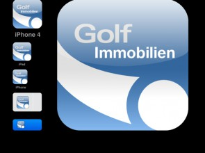 Golf Immobilien App Icon